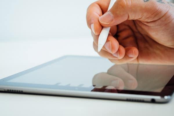 Caisse enregistreuse tactile sur tablette iPad